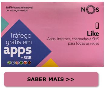 Tarifário Like | Tarifário NOS