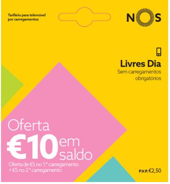 Tarifário Livres Bónus | Tarifário NOS